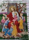 Ікона з чеського бісеру Ісус благословляє дітей доставка из г.Львов