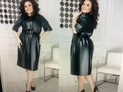 Продам женские стильные платья из эко- кожи Харків