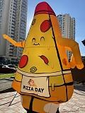 Надувная реклама пицца доставка із м.Київ