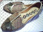 'Золотые' домашние туфли доставка из г.Николаев