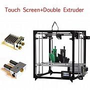 3д принтер новый, 3d печать 3д друк пластиком, изготовление деталей проект макет копия форма корпус доставка із м.Полтава