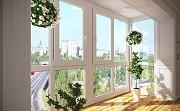 Окна балконы лоджии (вынос, обшивка, утепление). Французские балконы. Київ