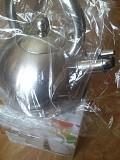 Экологический Чайник 2,5 л. индукция - нержавейка без бакелита на ПОДАРОК доставка із м.Кам'янське