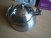 Индукционный чайник 3 литра со свистком, новый екологичний та стильний подарунок доставка із м.Кам'янське