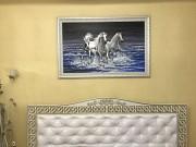 """Картина маслом """"Трійка в морі"""" 146х96 см Чернівці"""
